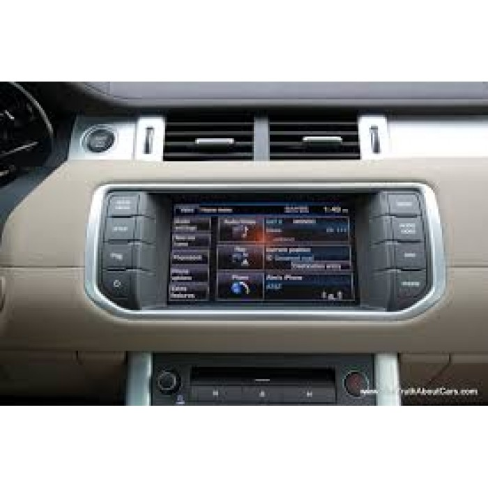 land rover incontrol touch sat nav sd card  map europe fk  ae