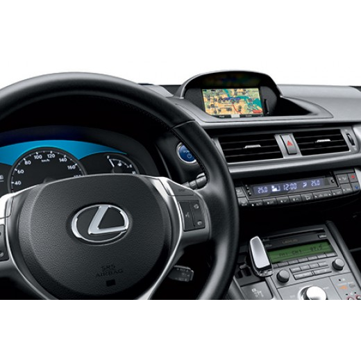 New Lexus CT MoveON SD Card  Navigation 2020
