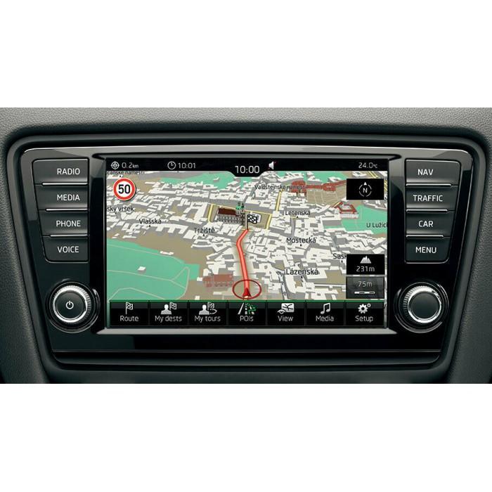 NEW 2019-2020 SKODA OCTAVIA YETI GEN1 MIB1 SD Card Sat Nav Navigation Map  Europe 5E0051236G