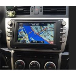 NEW Mazda navigation KENWOOD DV3200 2018 sat nav map update DVD disc