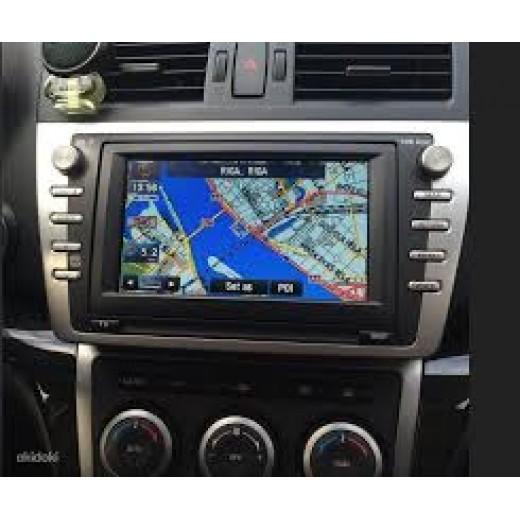 NEW Mazda navigation KENWOOD DV3200 2018 sat nav map update DVD disc