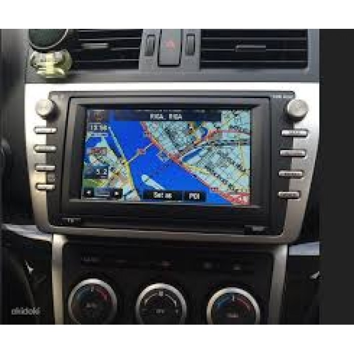mazda navigation kenwood dv  sat nav map update dvd disc