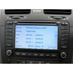 New Volkswagen MFD2 Navigation TravelPilot DX Sat Nav Update Disc 2014