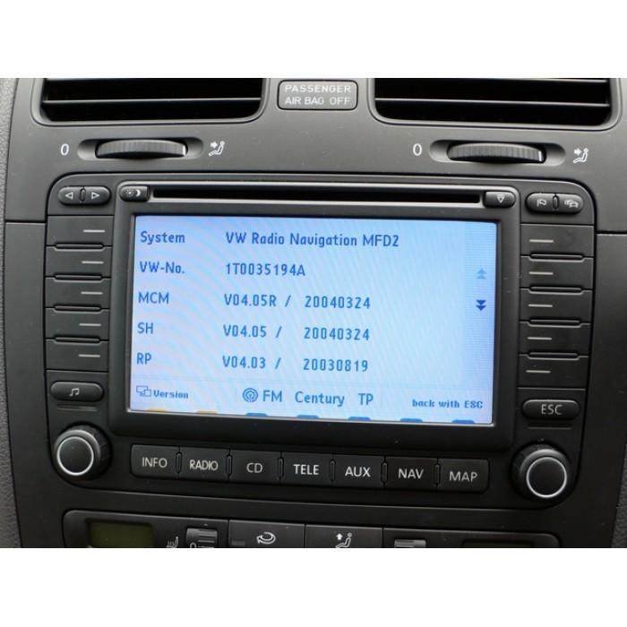 New Volkswagen MFD2 Navigation TravelPilot DX Sat Nav ...