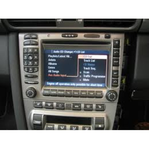 New Porsche PCM1 navigation update maps disc 2011