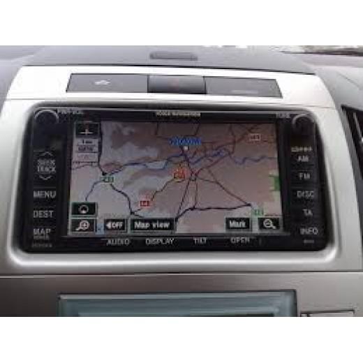 New 2018-2019 Toyota sat navigation DVD disc E1G Ver 2.0 generation 3-5 disc TNS600/700 sat nav map update